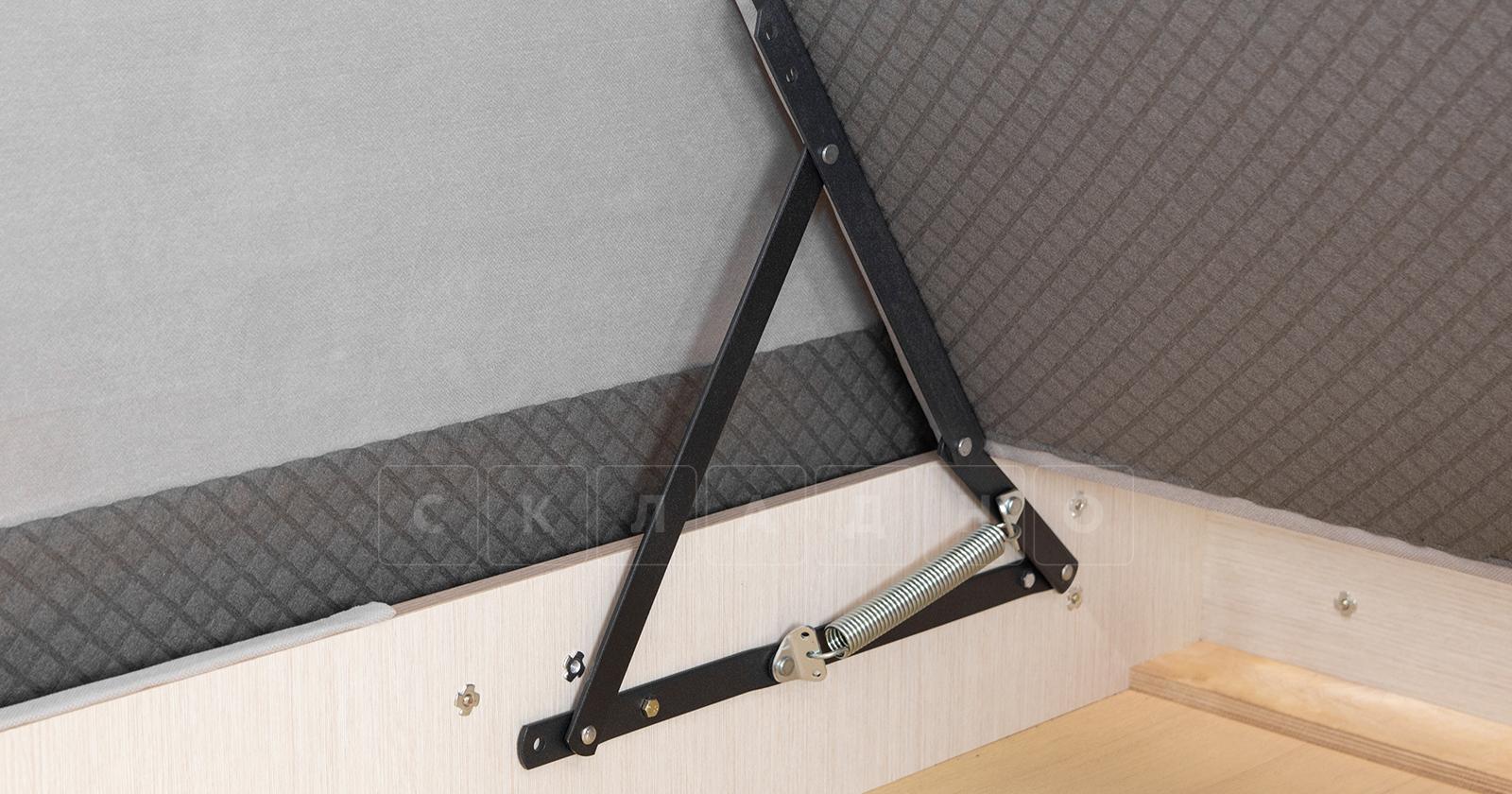 Диван-кровать угловой Флэтфорд светло-серый фото 15 | интернет-магазин Складно