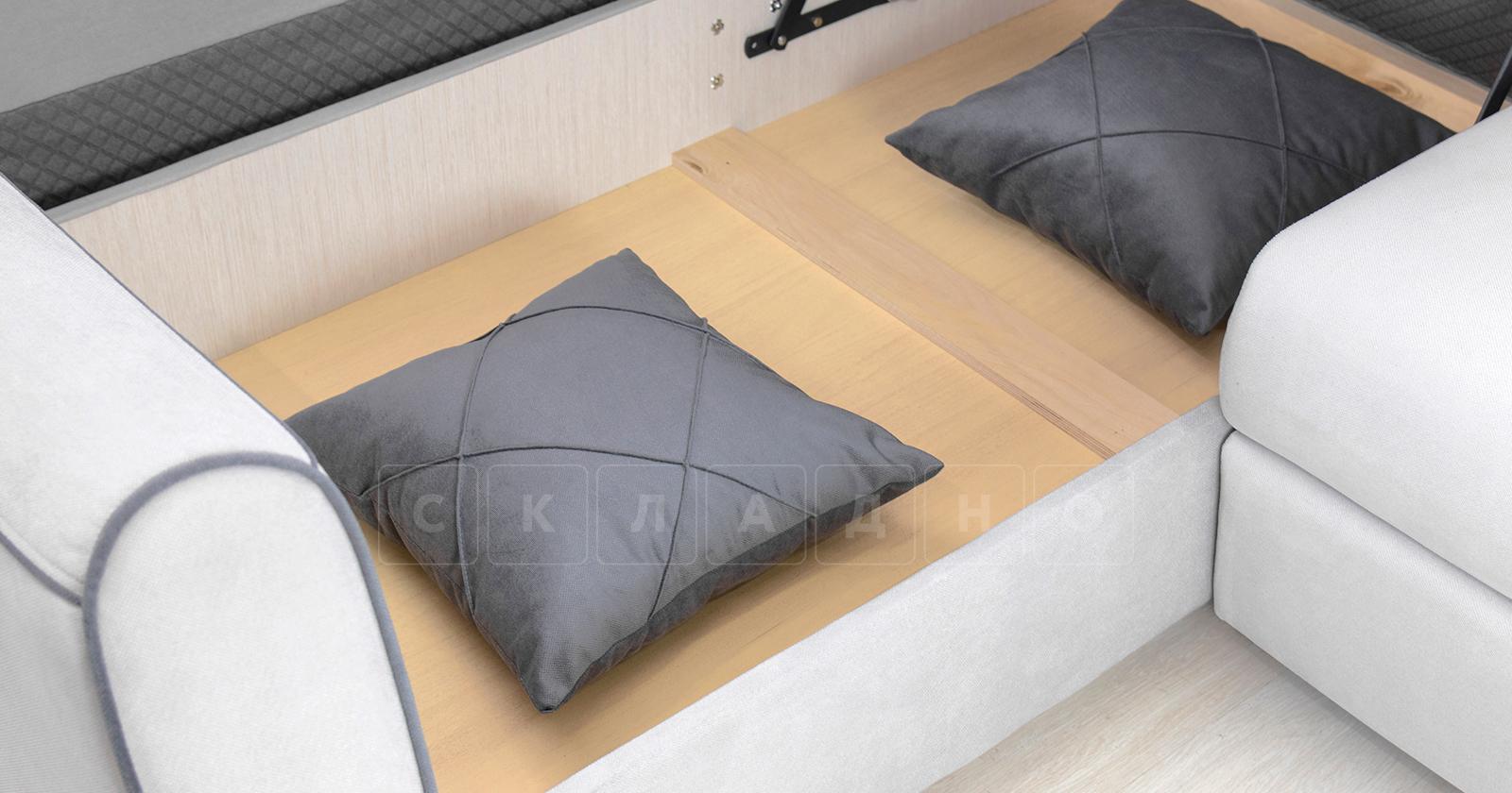 Диван-кровать угловой Флэтфорд светло-серый фото 16 | интернет-магазин Складно