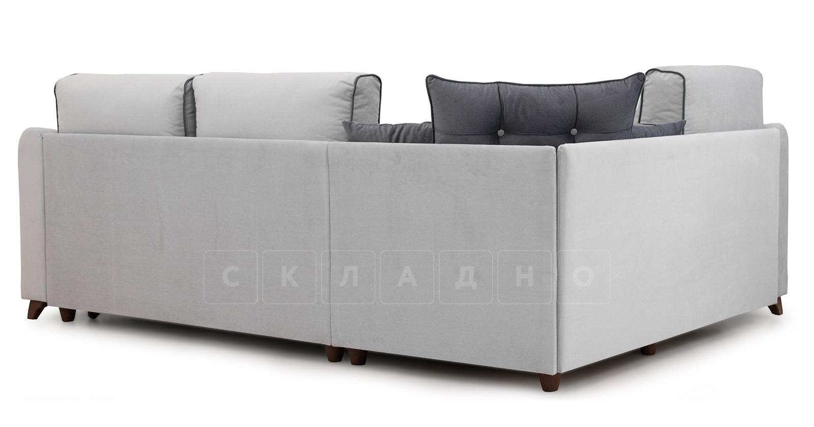 Диван-кровать угловой Флэтфорд светло-серый фото 4 | интернет-магазин Складно