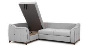 Диван-кровать угловой Флэтфорд светло-серый 63520 рублей, фото 5 | интернет-магазин Складно