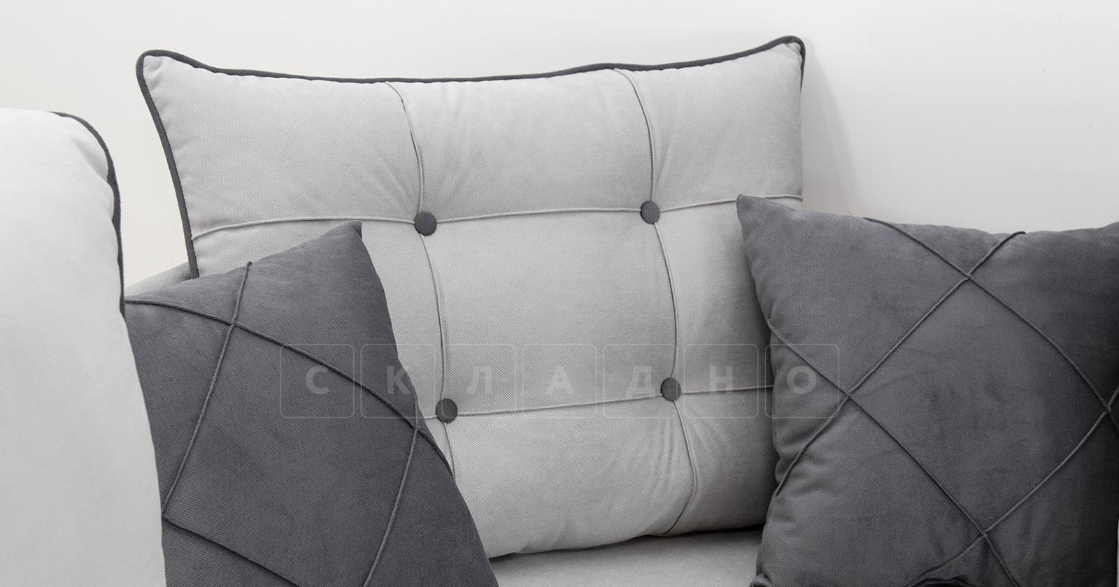 Диван-кровать угловой Флэтфорд светло-серый фото 9 | интернет-магазин Складно