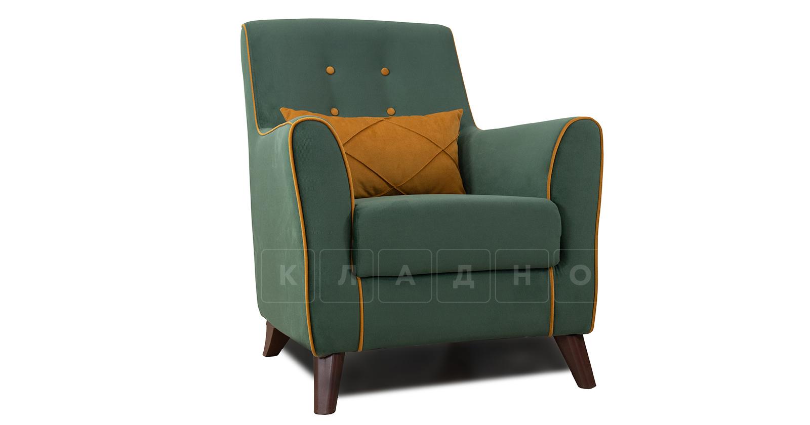 Кресло для отдыха Флэтфорд нефритовый зеленый фото 1 | интернет-магазин Складно