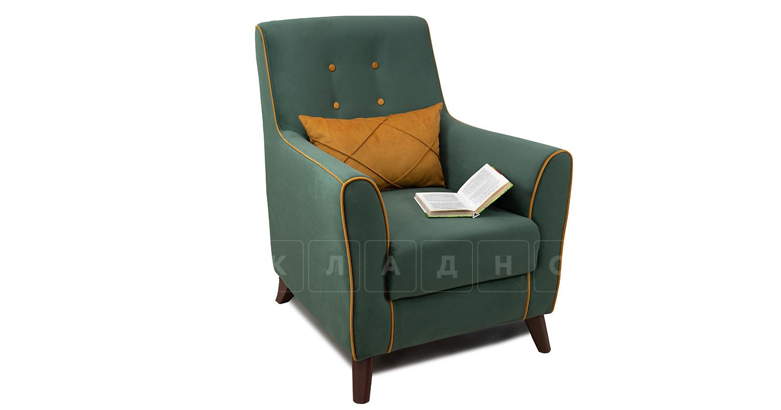 Кресло для отдыха Флэтфорд нефритовый зеленый фото 5 | интернет-магазин Складно