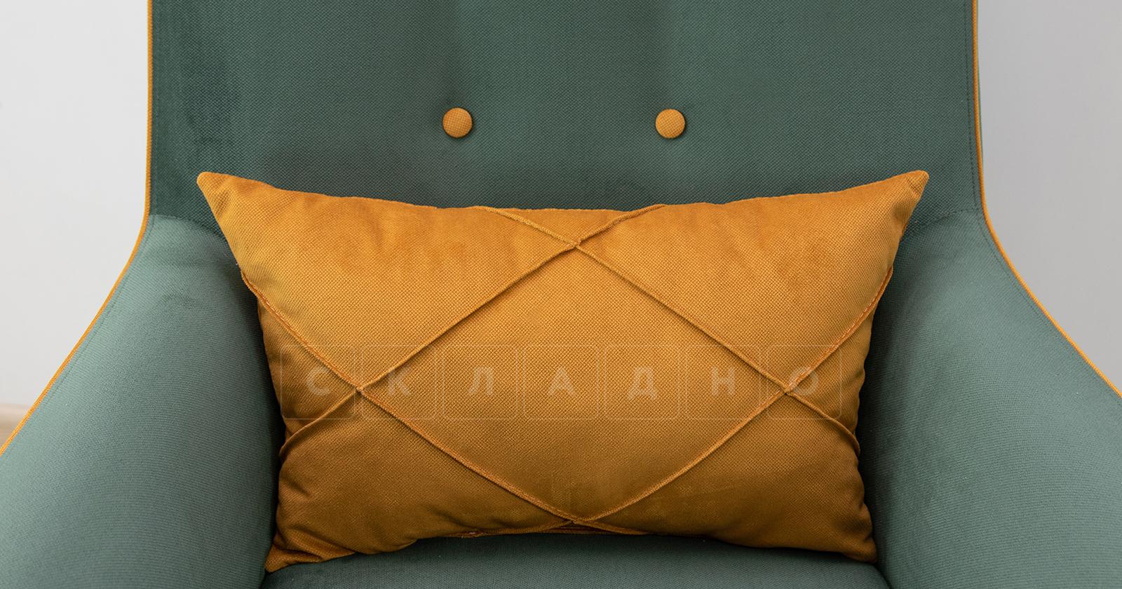 Кресло для отдыха Флэтфорд нефритовый зеленый фото 9 | интернет-магазин Складно