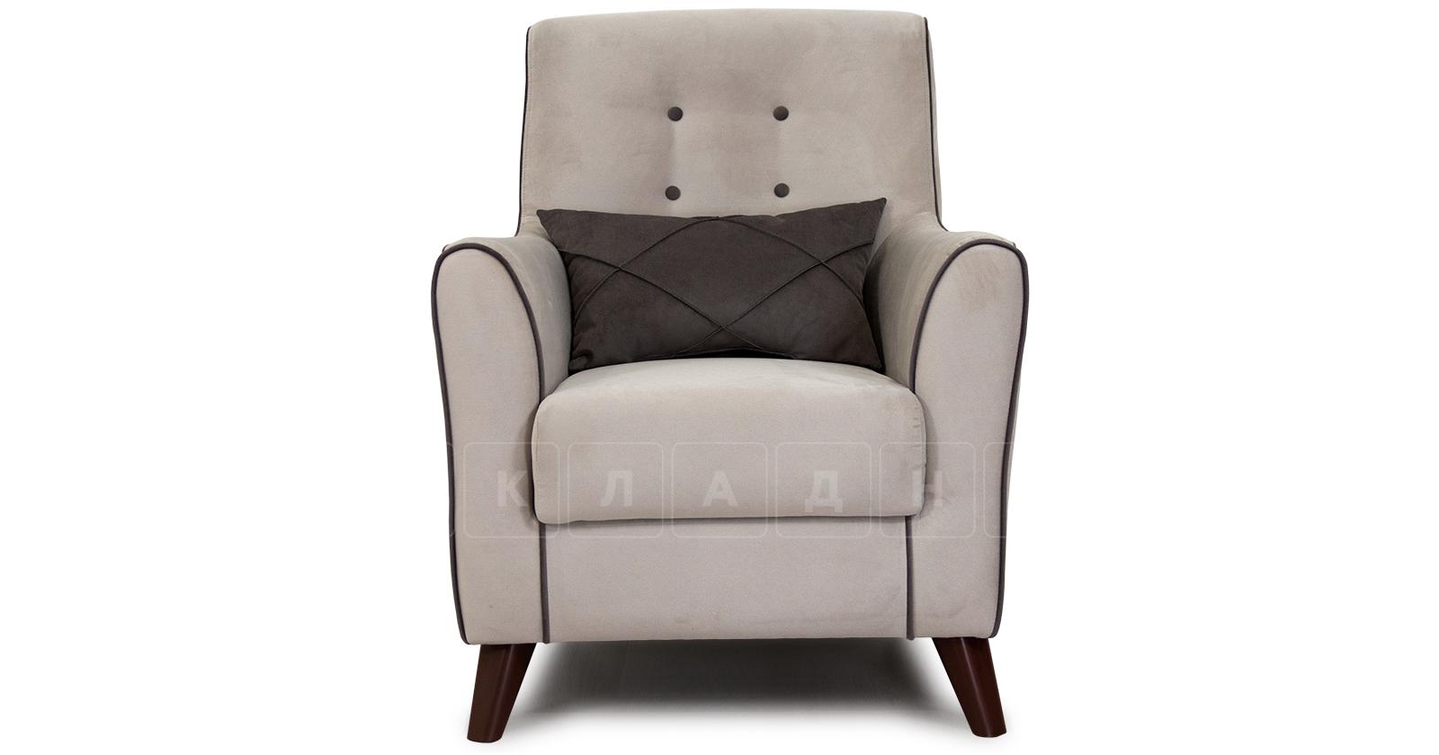 Кресло для отдыха Флэтфорд серо-бежевый фото 2 | интернет-магазин Складно