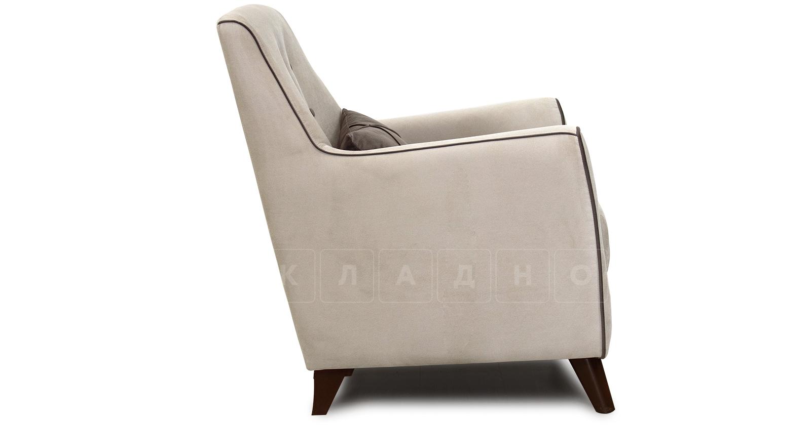 Кресло для отдыха Флэтфорд серо-бежевый фото 3 | интернет-магазин Складно