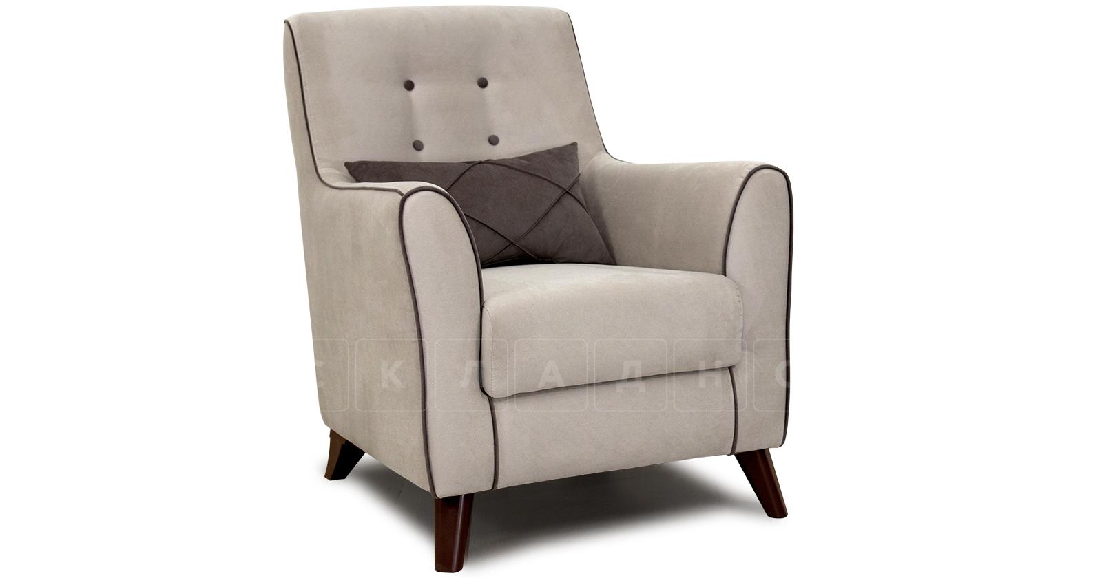 Кресло для отдыха Флэтфорд серо-бежевый фото 1 | интернет-магазин Складно