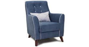 Кресло для отдыха Флэтфорд серо-синий-15970 фото | интернет-магазин Складно