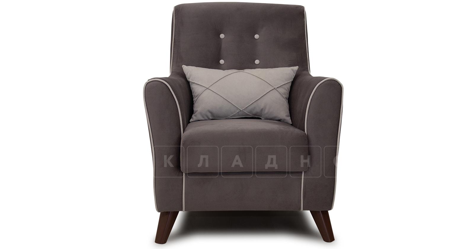 Кресло для отдыха Флэтфорд шоколад фото 2 | интернет-магазин Складно