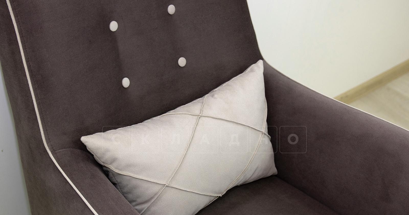 Кресло для отдыха Флэтфорд шоколад фото 7 | интернет-магазин Складно