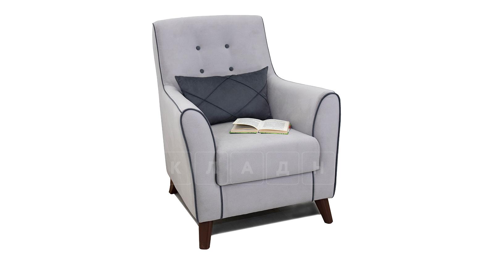 Кресло для отдыха Флэтфорд светло-серый фото 5   интернет-магазин Складно