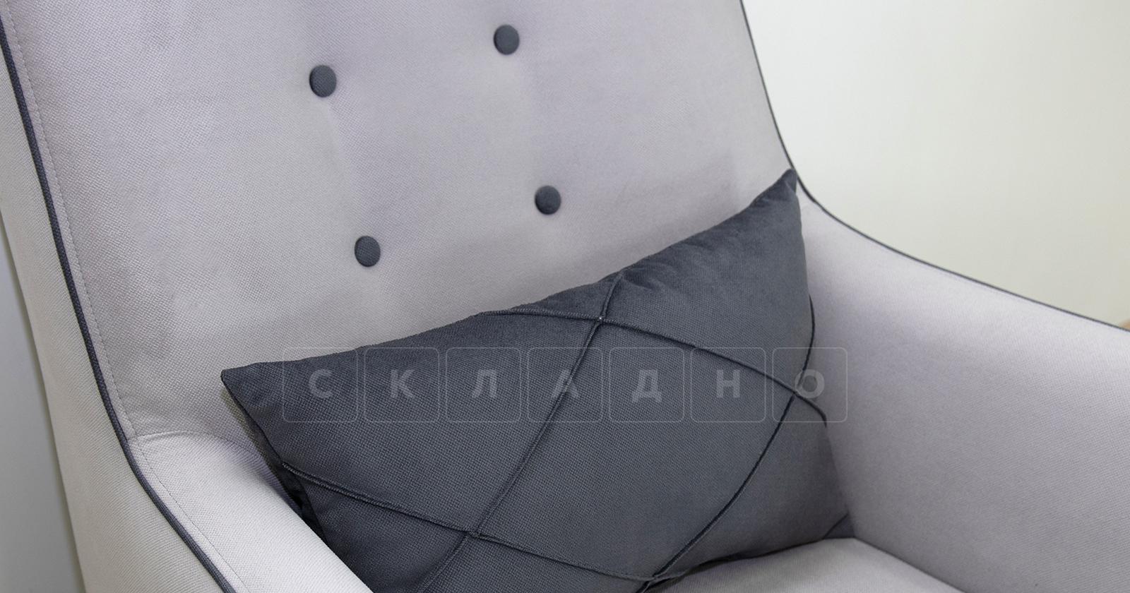 Кресло для отдыха Флэтфорд светло-серый фото 7   интернет-магазин Складно