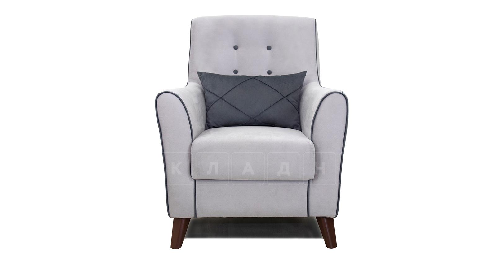 Кресло для отдыха Флэтфорд светло-серый фото 2   интернет-магазин Складно