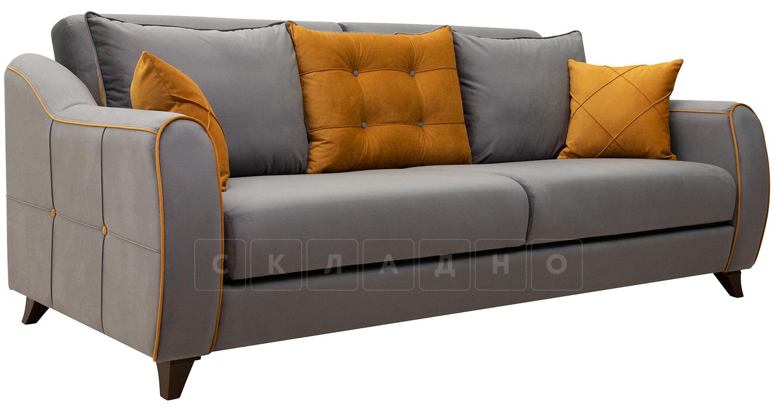 Диван-кровать Флэтфорд кварцевый серый фото 1 | интернет-магазин Складно