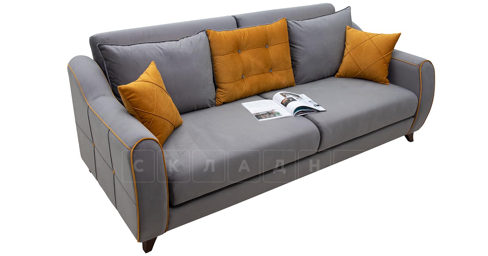 Диван-кровать Флэтфорд кварцевый серый фото 3 | интернет-магазин Складно