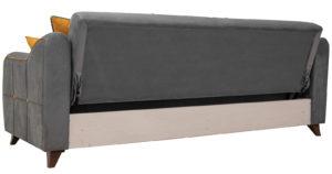 Диван-кровать Флэтфорд кварцевый серый 39990 рублей, фото 4 | интернет-магазин Складно