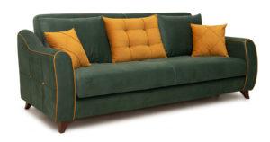 Диван-кровать Флэтфорд нефритовый зеленый-16004 фото | интернет-магазин Складно