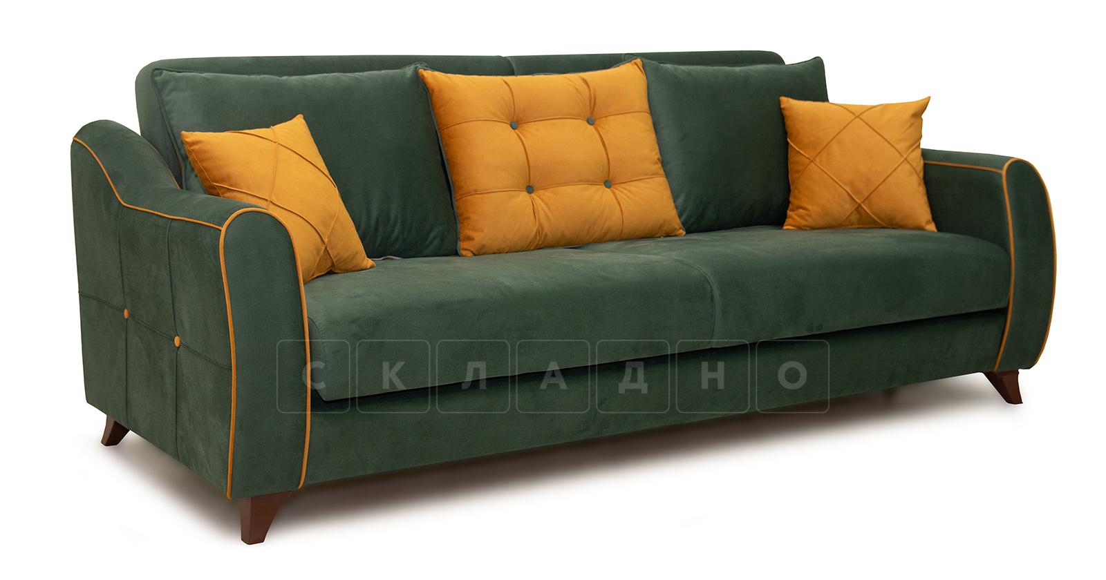 Диван-кровать Флэтфорд нефритовый зеленый фото 1   интернет-магазин Складно
