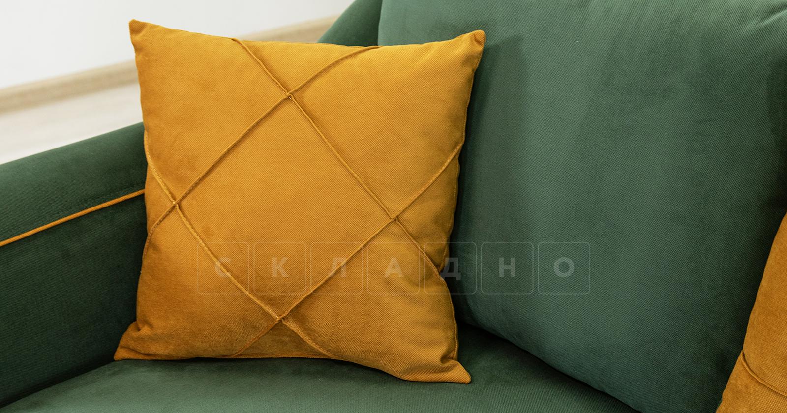 Диван-кровать Флэтфорд нефритовый зеленый фото 11   интернет-магазин Складно