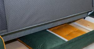 Диван-кровать Флэтфорд нефритовый зеленый 39990 рублей, фото 14   интернет-магазин Складно