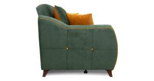 Диван-кровать Флэтфорд нефритовый зеленый 39990 рублей, фото 3   интернет-магазин Складно