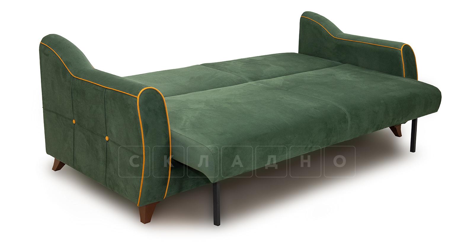 Диван-кровать Флэтфорд нефритовый зеленый фото 5   интернет-магазин Складно
