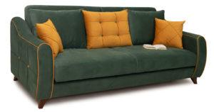 Диван-кровать Флэтфорд нефритовый зеленый 39990 рублей, фото 6   интернет-магазин Складно