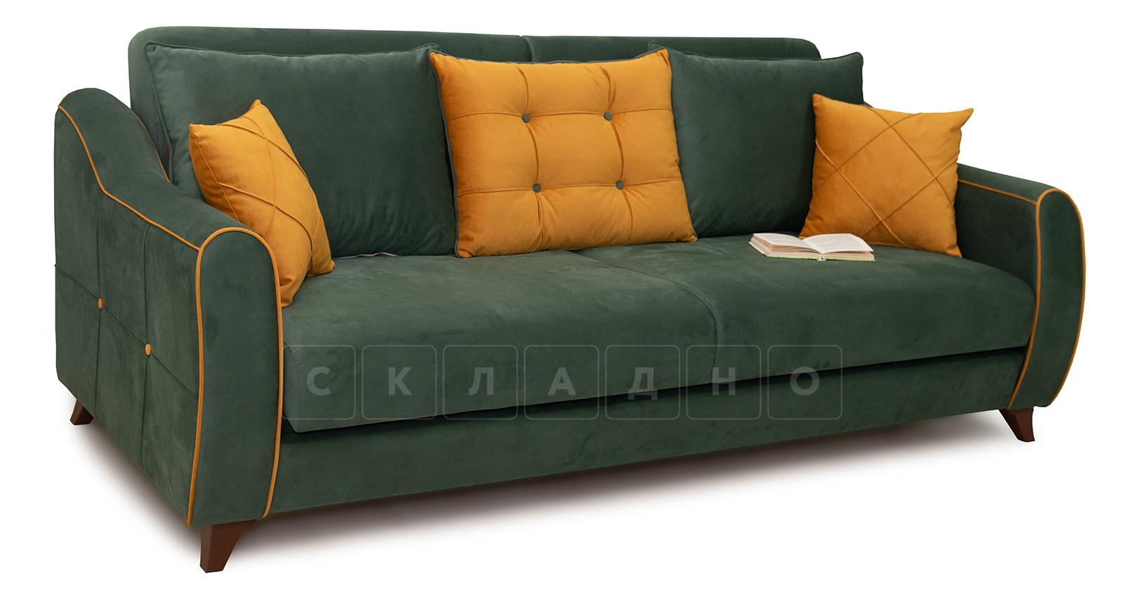 Диван-кровать Флэтфорд нефритовый зеленый фото 6   интернет-магазин Складно
