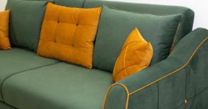 Диван-кровать Флэтфорд нефритовый зеленый 39990 рублей, фото 8   интернет-магазин Складно