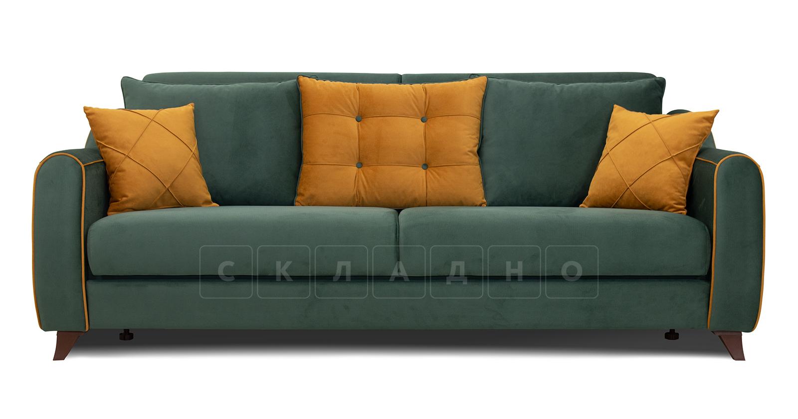 Диван-кровать Флэтфорд нефритовый зеленый фото 2   интернет-магазин Складно