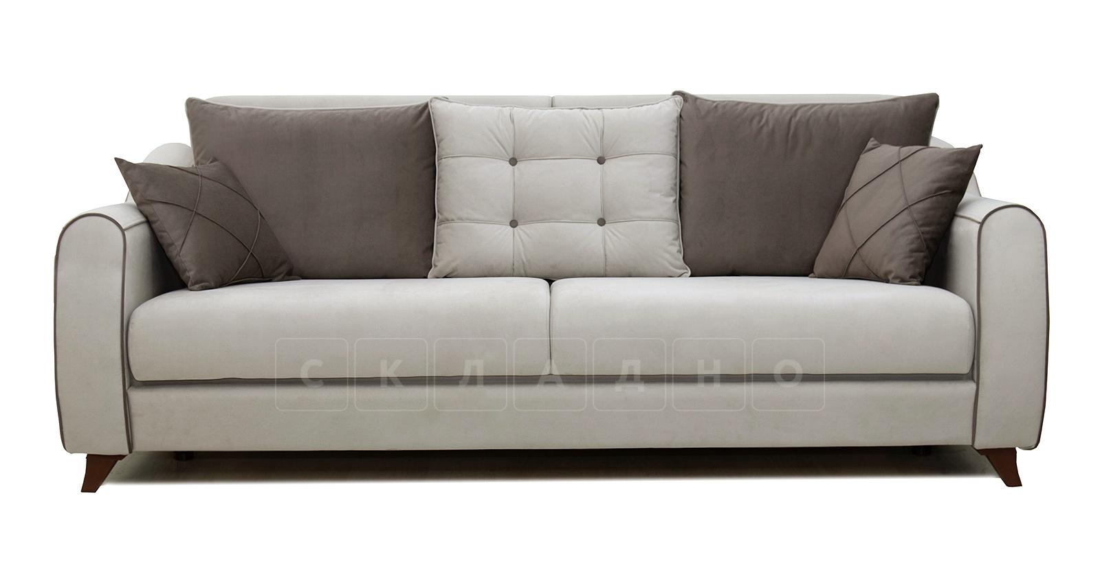 Диван-кровать Флэтфорд серо-бежевый фото 3 | интернет-магазин Складно
