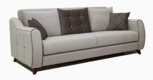 Диван-кровать Флэтфорд серо-бежевый-16055 фото | интернет-магазин Складно