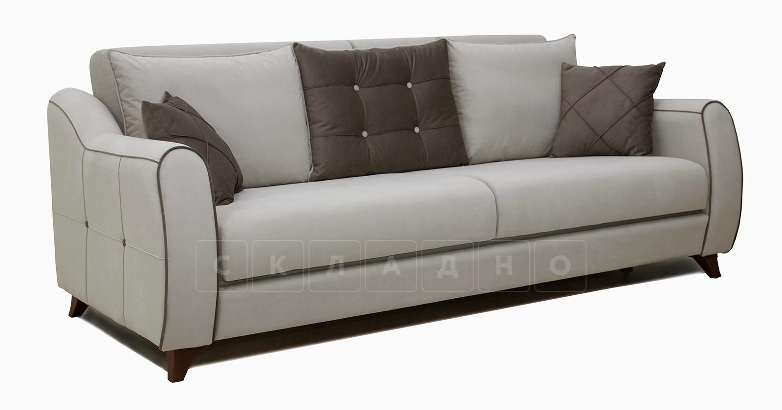 Диван-кровать Флэтфорд серо-бежевый фото 1 | интернет-магазин Складно