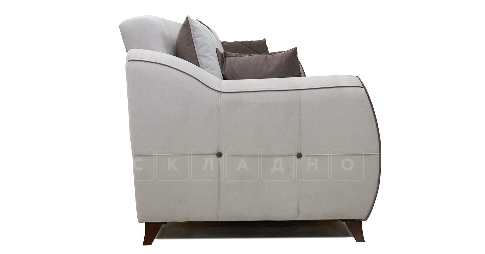 Диван-кровать Флэтфорд серо-бежевый фото 4 | интернет-магазин Складно