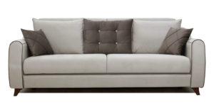Диван-кровать Флэтфорд серо-бежевый 42110 рублей, фото 2 | интернет-магазин Складно
