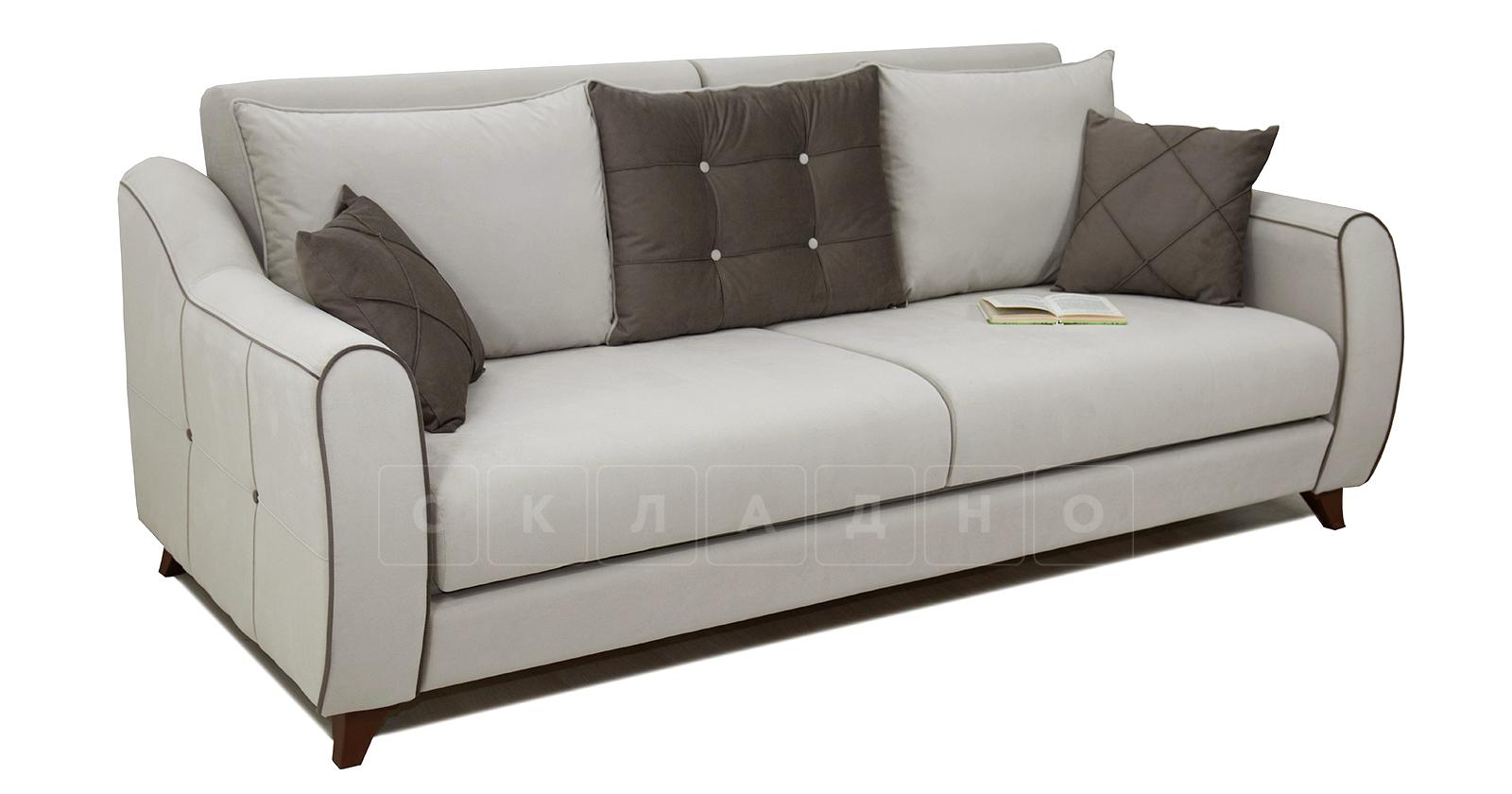 Диван-кровать Флэтфорд серо-бежевый фото 6 | интернет-магазин Складно