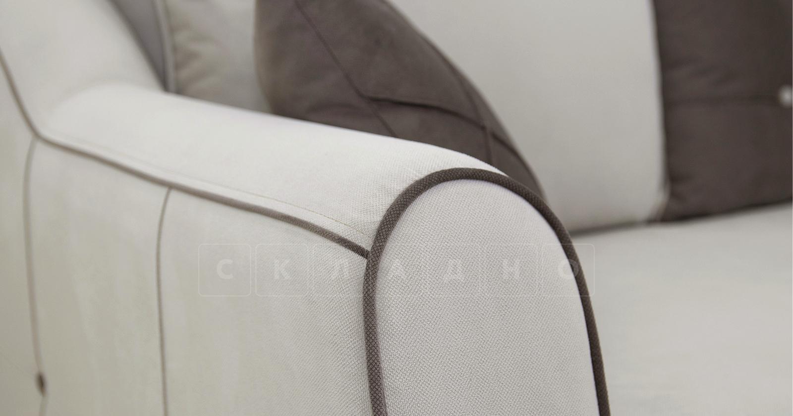 Диван-кровать Флэтфорд серо-бежевый фото 7 | интернет-магазин Складно