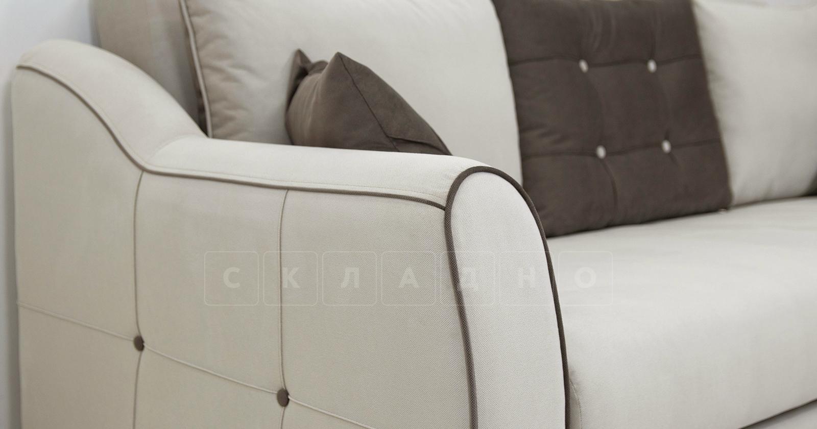 Диван-кровать Флэтфорд серо-бежевый фото 8 | интернет-магазин Складно