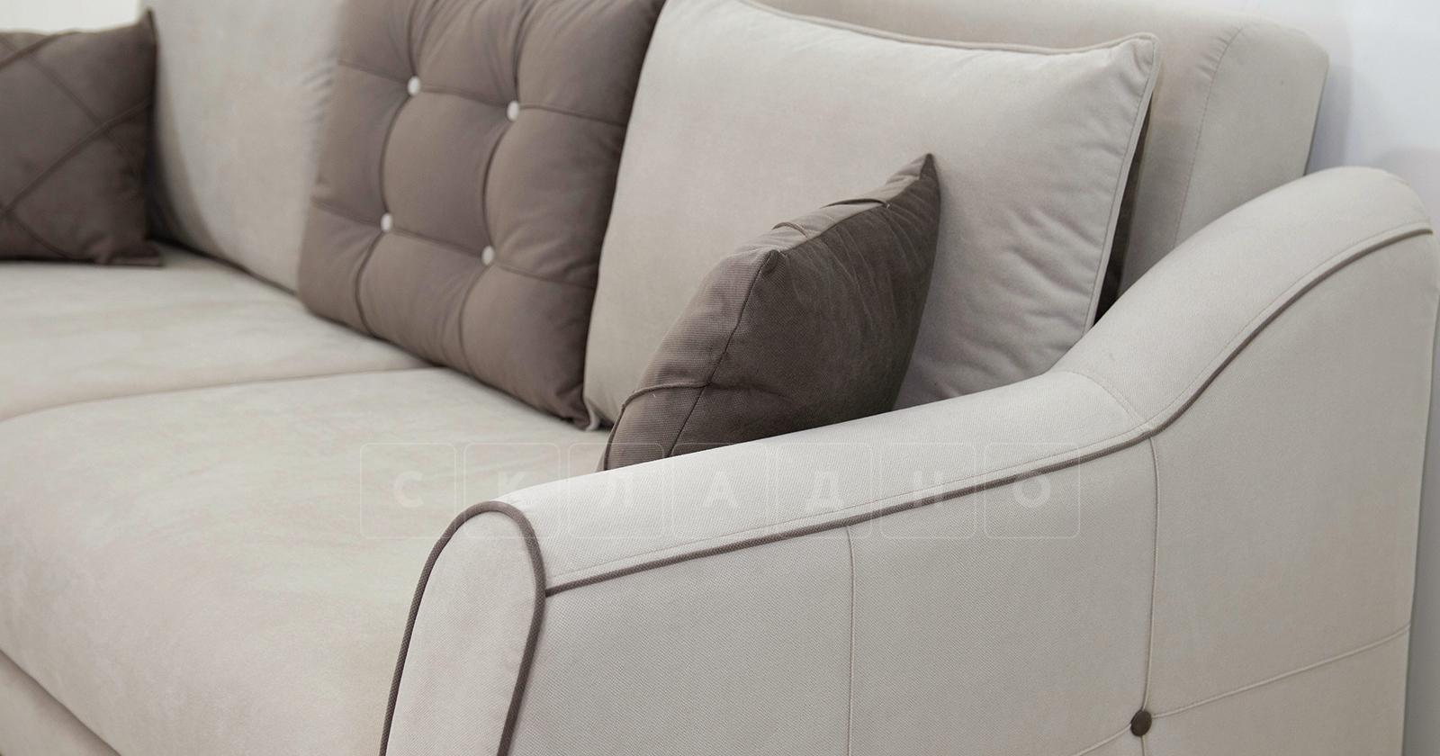 Диван-кровать Флэтфорд серо-бежевый фото 10 | интернет-магазин Складно