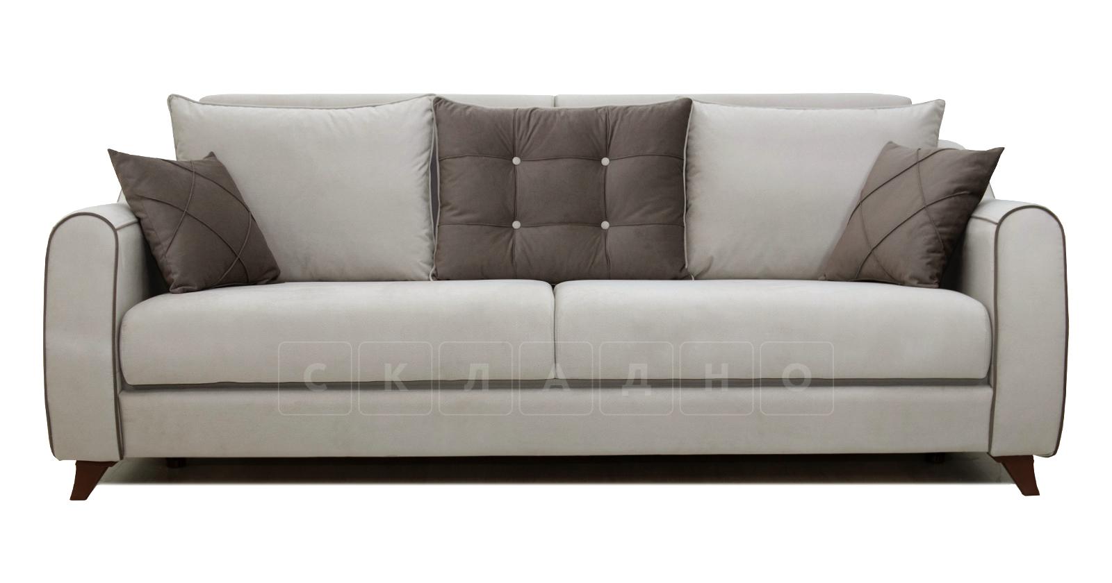 Диван-кровать Флэтфорд серо-бежевый фото 2 | интернет-магазин Складно