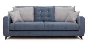 Диван-кровать Флэтфорд серо-синий 42110 рублей, фото 3 | интернет-магазин Складно
