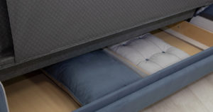 Диван-кровать Флэтфорд серо-синий 42110 рублей, фото 12 | интернет-магазин Складно
