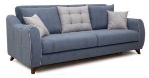 Диван-кровать Флэтфорд серо-синий  42110  рублей, фото 1 | интернет-магазин Складно