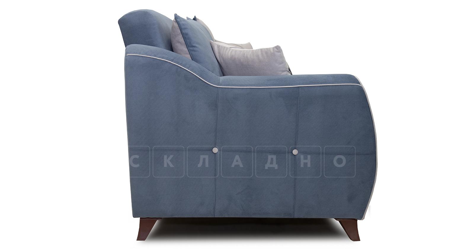 Диван-кровать Флэтфорд серо-синий фото 4 | интернет-магазин Складно