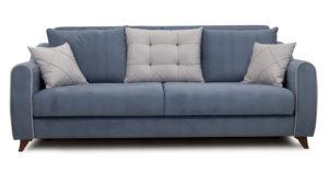 Диван-кровать Флэтфорд серо-синий 42110 рублей, фото 2 | интернет-магазин Складно