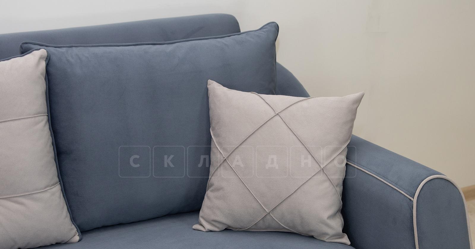 Диван-кровать Флэтфорд серо-синий фото 7 | интернет-магазин Складно