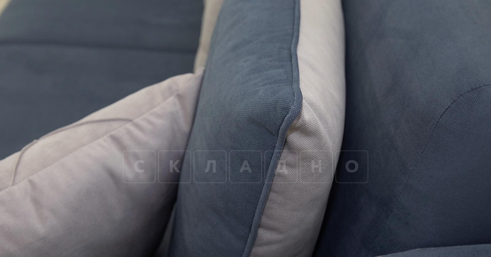 Диван-кровать Флэтфорд серо-синий фото 9 | интернет-магазин Складно