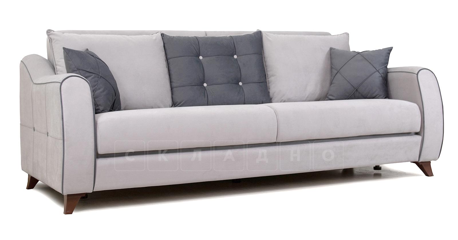 Диван-кровать Флэтфорд светло-серый фото 1 | интернет-магазин Складно