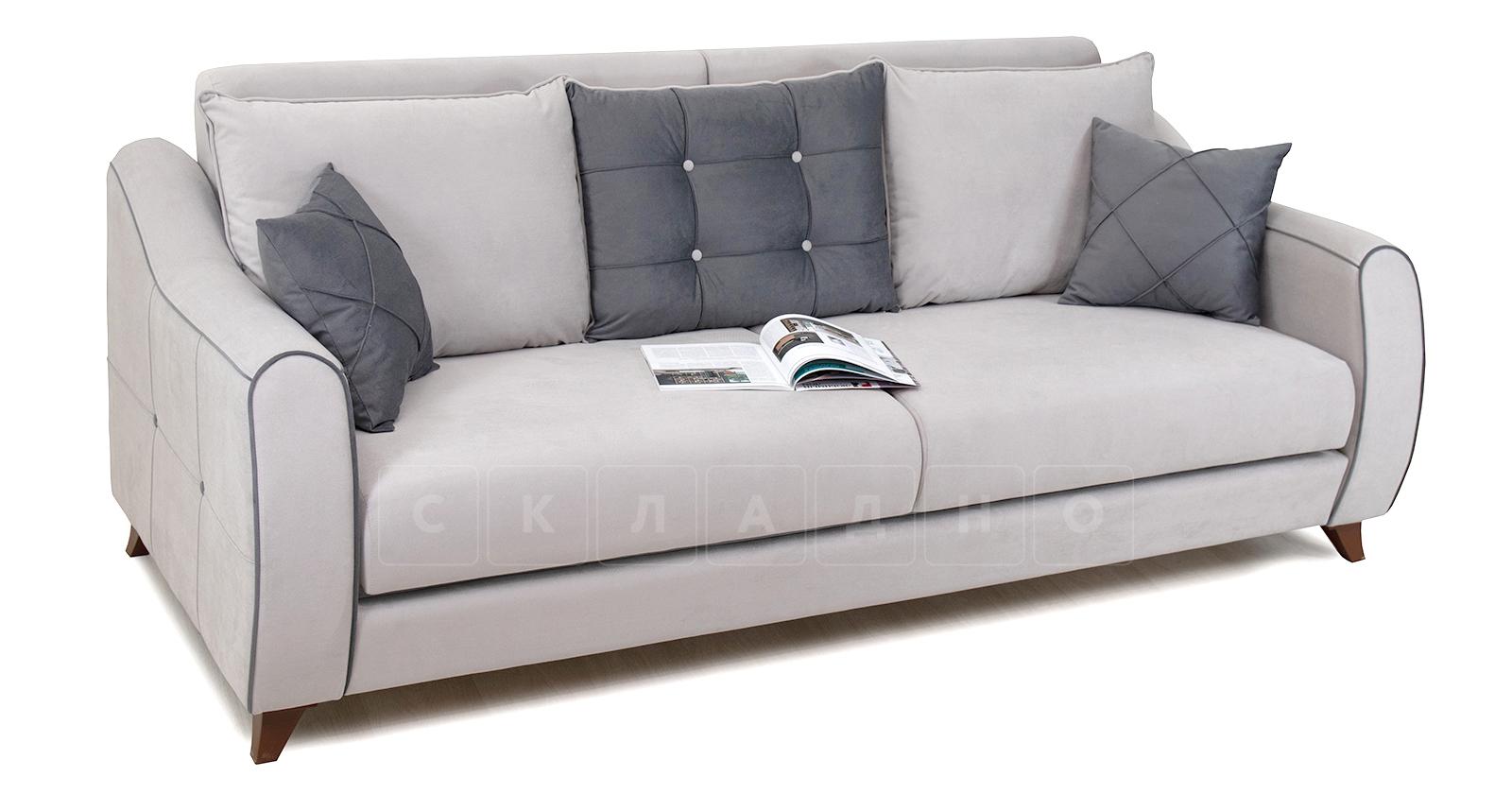 Диван-кровать Флэтфорд светло-серый фото 5 | интернет-магазин Складно