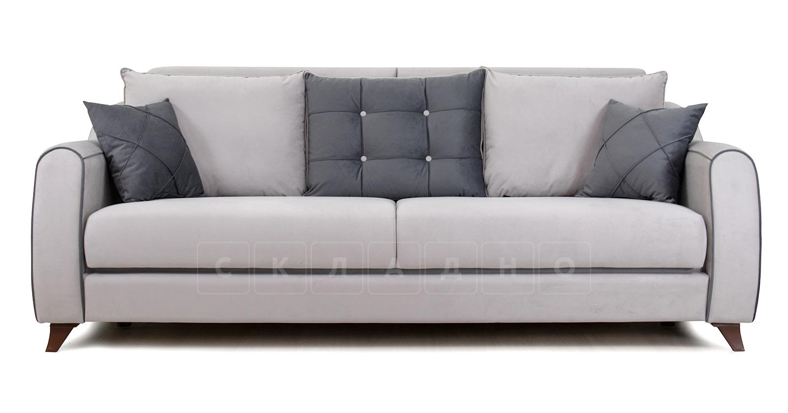 Диван-кровать Флэтфорд светло-серый фото 2 | интернет-магазин Складно
